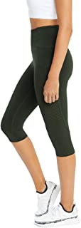 Rockwear Activewear Women's 3/4 Logo Perforated Pocket Tight from Size 4-18 for 3/4 Length High Bottoms Leggings + Yoga Pa...