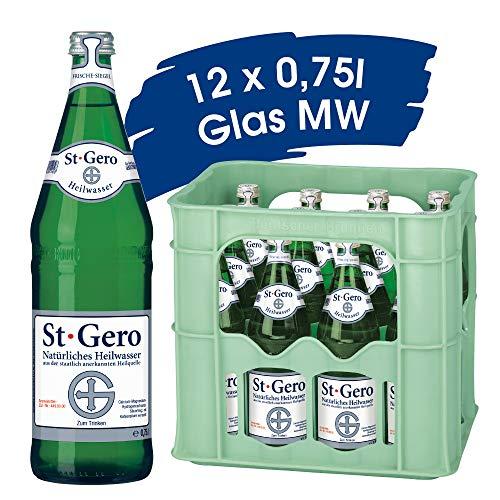 St. Gero Heilwasser / 12 x 0,75 L Glas Mehrweg Flaschen
