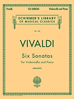 Six Sonatas for Violoncello and Piano