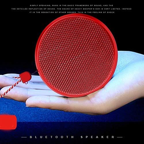 XFSE Red Outdoor Wireless Bluetooth-Lautsprecher tragbare Mini-Stereo-Subwoofer Sport