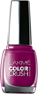 Lakmé True Wear Color Crush Nail Color, Shade 58, 9ml