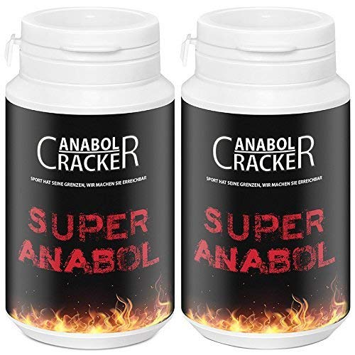 2 X Super Anabol, Muskelaufbau Anabolika, 100 Kapseln Energy, Testosteron Booster