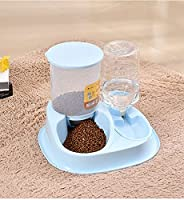 Super Large Capacity Automatic Feeder Automatic Water Dispenser Cat Bowl Dog Bowl Non Card Food Pet Products