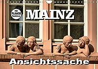 Mainz - Ansichtssache (Wandkalender 2022 DIN A4 quer): 12 Ansichten der Stadt am Rhein (Geburtstagskalender, 14 Seiten )