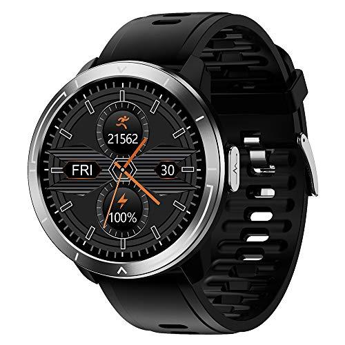 HJKPM M18plus Smartwatch, Reloj Inteligente De Salud De Pantalla Grande A Prueba De Agua IP68 con Ritmo Cardíaco Deportivo Monitoreo del Sueño Y Bluetooth Take Funcion,C3