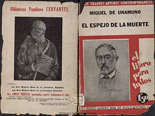 El espejo de la muerte: novelas cortas (Spanish Edition)