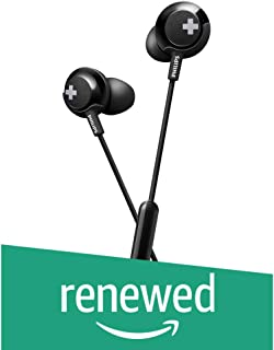 (Renewed) Philips SHE4305BK/00 Headphones (Black)