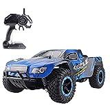 Coches de control remoto 4 ruedas RC control remoto de coches Muscle Extreme Monster Truck 2.4G remoto de control de velocidad de carreras de coches Suspensión Independiente juguetes electrónicos Hobb