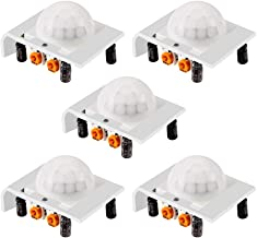 5 Pack HC-SR501 Adjustable IR Pyroelectric Infrared PIR Motion Sensor Detector PID Modules for Arduino & Raspberry Pi Projects (Green)