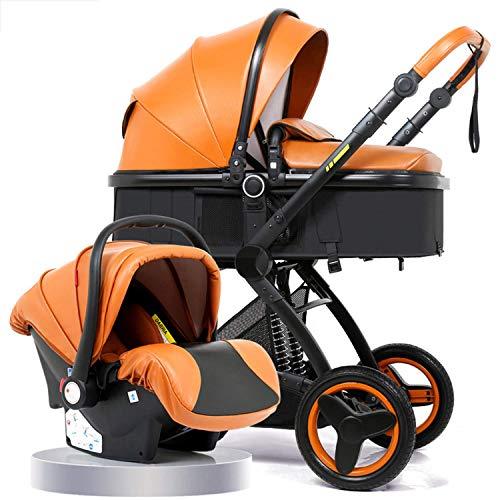 VIVOCC Cochecito de bebé Plegable portátil Ligero Puede Sentarse y acostarse arnés de 5 Puntos for recién Nacido Nacido Bebé Niños y Niñas