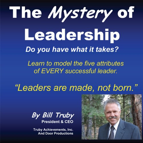The Mystery of Leadership audiobook cover art
