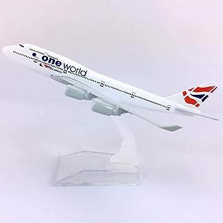 16CM 1:400スケールボーイングB747-400モデルおもちゃブリティッシュエアウェイズエアバス樹脂飛行機旅客機ディスプレイお土産