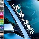 JDM Frontscheibe Aufkleber Fahne Tokio Style Mx XRX WRC STI Japan Spoiler Drift Dapper chillest Low Auto-Sticker Reifen