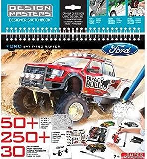 Wooky Design Masters Ford F-150 SVT Raptor Sketchbook, Large