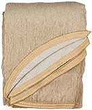 Lanovenanube - Falda Camilla Rectangular Chenilla - 80x120 cm - Color Beig