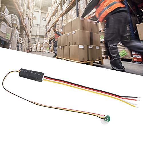 Sensor infrarrojo para luz 5V-24VDC Sensor infrarrojo Humano TDL-799K Sensor infrarrojo Sensor de Movimiento Blanco 1.5A para baños para iluminación automática en pasillos