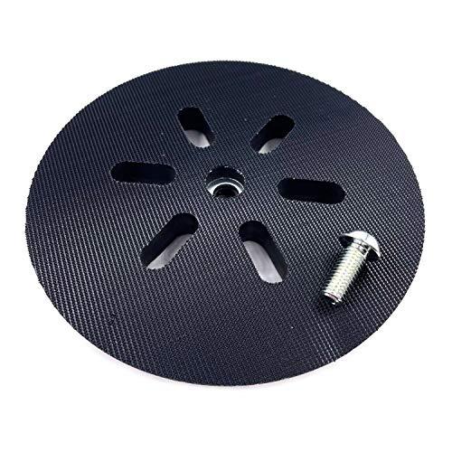 1 disco de lijado aspirante de polvo [dureza media] compatible con lijadora excéntrica Bosch GEX 150 Turbo, GEX 150 AC con disco de apoyo de velcro para lijadora excéntrica.