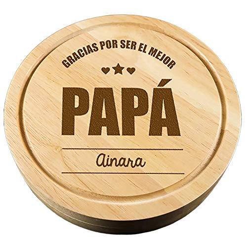 CALLE DEL REGALO Tabla Queso 'Gracias ser Mejor papá'