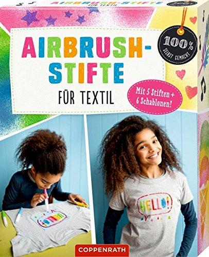 Airbrush-Stifte für Textil (100% selbst gemacht)