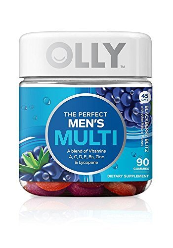 OLLY The Perfect Men's Multi 90 gummies by Olly