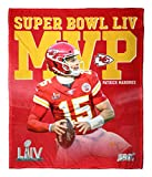 Northwest Super Bowl LIV MVP Patrick Mahomes Kansas City Chiefs Silk Touch 50' x 60' Throw Blanket