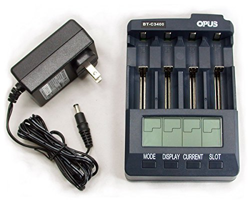 Universal Battery Charger Tester Anazlyer C3400 for Li-ion NiMH NiCd AA AAA C 18650