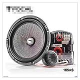 HUIXIAN XXIPO STRC 1 Set Focal Car Speaker 165AS 6.5'Acceda A Los Altavoces De Componentes De Fibra De Vidrio Tweeters Crossovers En Stock (Color : Focal 165AS)