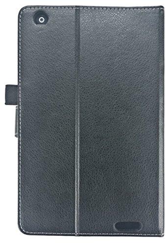 Hannspree aufstellbare Lederhülle für 20,3 cm (8 Zoll) Tablet grau