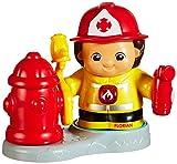 VTech Baby 80-176104 - Kleine Entdeckerbande - Feuerwehrmann Florian mit Hydrant