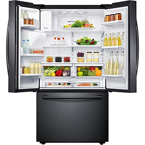 Samsung RF23HCEDBSG 23 cu. ft. Black Stainless Counter Depth French Door Refrigerator RF23HCEDBSG/AA