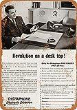 Kilburn 1949 Dictaphone électronique Dictaphone Retro Creative Wall Decoration...