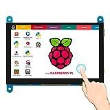 ELECROW 5インチ モバイルモニター Raspberry Pi用 モバイルディスプレイ LCD ディスプレイ ポータブルモニター 800*480 HDMI端子 高画質タッチパネルモニター Raspberry Pi 4B 3B+ Switch WiiU Xbox 360 PS4 Win PC用対応 ゲームモニター 安心保証1年付き