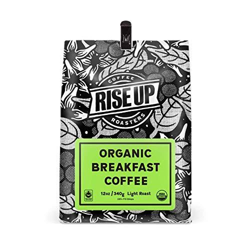 Organic Breakfast, Certified Fair Trade Organic Coffee, 12 oz, Whole Bean (Organic Breakfast)