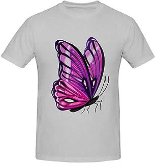 HJHKJ Flame Palm Men's Cotton T-Shirts Short Sleeve T-Shirt