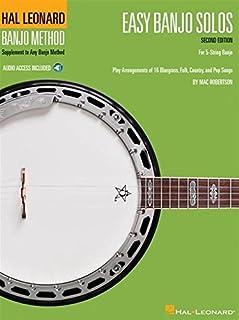Easy Banjo Solos for 5-String Banjo: Hal Leonard Banjo Method