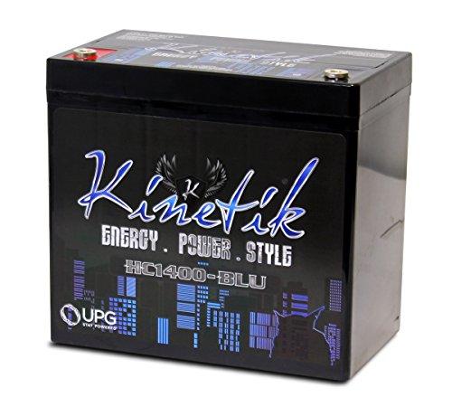 Kinetik (HC1400-BLU) Black Power Cell Battery