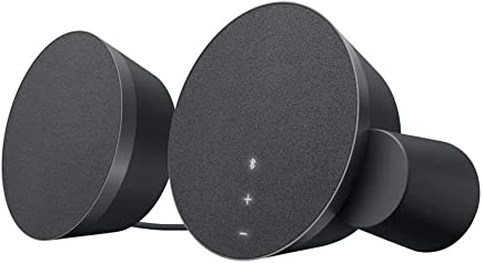 Logitech MX Sound 2.0 Multi Device Stereo Speakers with premium digital audio for desktop computers, laptops, and Bluetooth-enabled (Certified Refurbished)