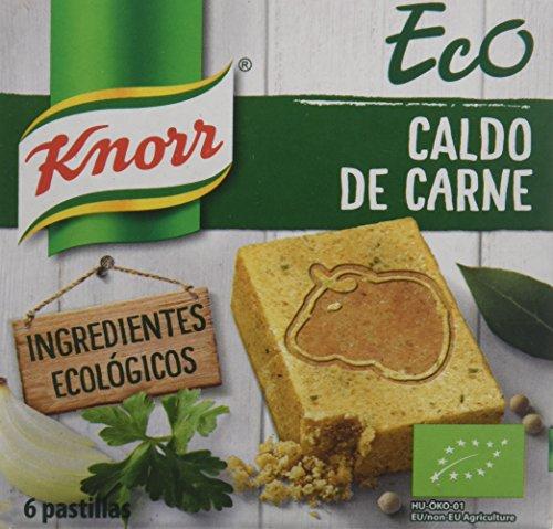 Knorr -  Caldo Pastilla Ecológico Carne (60g)