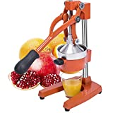 Gowintech Commercial Heavy Duty Cast Iron Hand Press Manual Orange Citrus Lemon Lime Grapefruit Fruit Juice Squeezer Machine