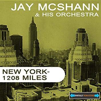 New York - 1208 Miles