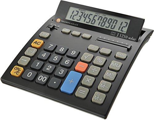 TA Tischrechner J 1210 solar Euro/B6409 12-stellig