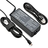 Type-C Laptop Charger 45W for Lenovo C330 100e 300e 500e Chromebook 2nd Gen AST MTK 4X20M26252 4X20E75131 C340 S330 S340 ADLX45YCC3D ADLX45YLC3D Laptop Power Supply Adapter Cord