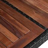 IMG-2 vidaxl legno massello e polyrattan
