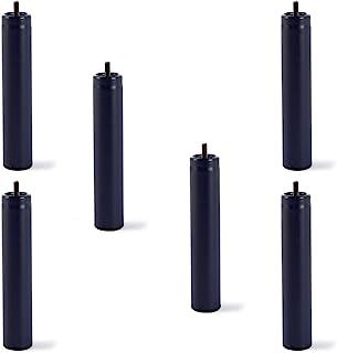 comprar comparacion HOGAR24 6 Patas de somier ó Base tapizada, metálicas, cilíndricas con Rosca 32CM