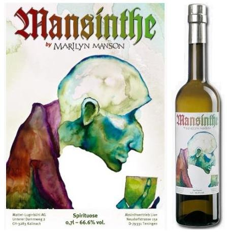 Absinthe Mansinthe Assenzio Marilyn Manson 66,6° cl 70