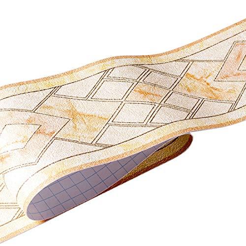 HBOS Moderno motivo geometrico carta da parati adesivo rimovibile per la casa, bordatura, decorazione per la cucina, il bagno, il soggiorno, le piastrelle