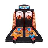 Asixxsix Máquina de Baloncesto Relajante para Reducir la presión del Trabajo, máquina de Baloncesto de Escritorio con aro de Baloncesto, Interesante para niños, hogar,(Desktop Catapult Basketball)