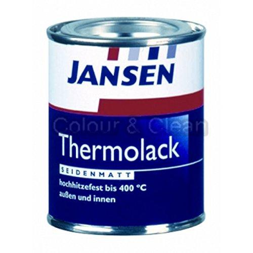 JANSEN Thermolack 125ml schwarz