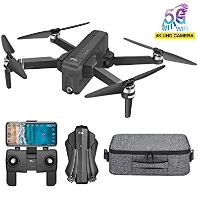 Jettime X-7 GPS Foldable Drone , 1680P FHD Camera , FPV Live Video RC Quadcopter with 5G WiFi Transmission ,Follow Me, Altitude Hold, Return Home, Gesture Control, Wide Control Range