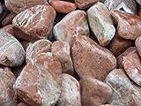 GYD Saco Piedra Jardin Canto RODADO Rojo Alicante 20-40 MM 20 KG